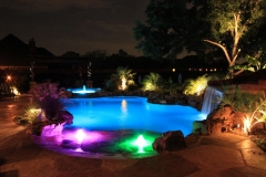 Pool Ideas, night